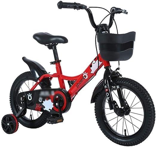 LXF Bicicletas Infantiles Bicicleta Infantil Princesa Estudiante ...