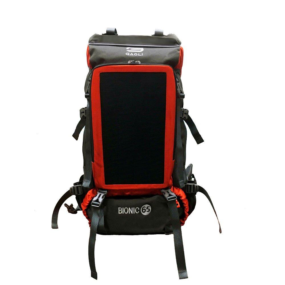 Amazon.com: Gao Li funciona con energía solar mochila/12 W 1 ...
