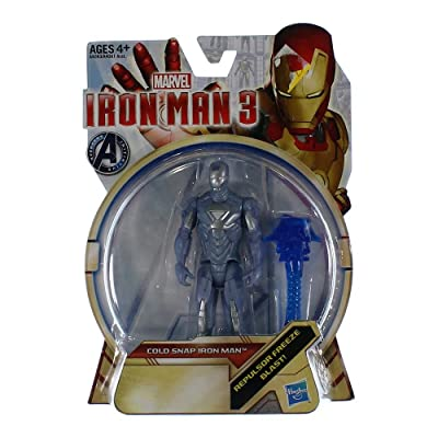 Hasbro Iron Man 3 Series 1 Action Figure Cold Snap Iron Man: Toys & Games