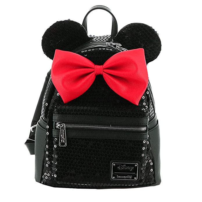 Loungefly Disney Minnie Sequin Mini Backpack