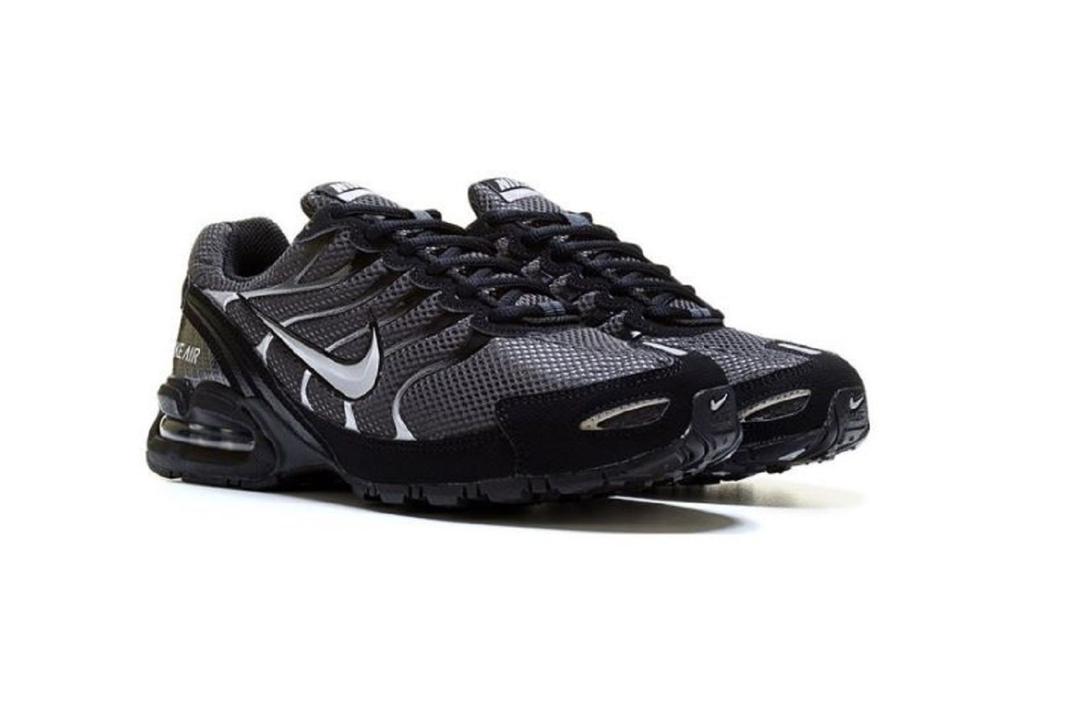 78565a4b6257f Galleon - Nike Men s Air Max Torch 4 Running Shoe Anthracite Metallic  Silver Black Size 11.5 M US