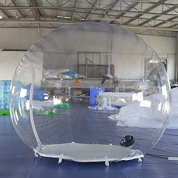 SAYOK Tienda inflable de burbujas iglú de 2m cúpula ...