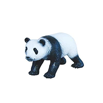 Panda Bear Toy Figure - Detailed Animal Toy Made From Soft Latex: Toys & Games [5Bkhe0704418]