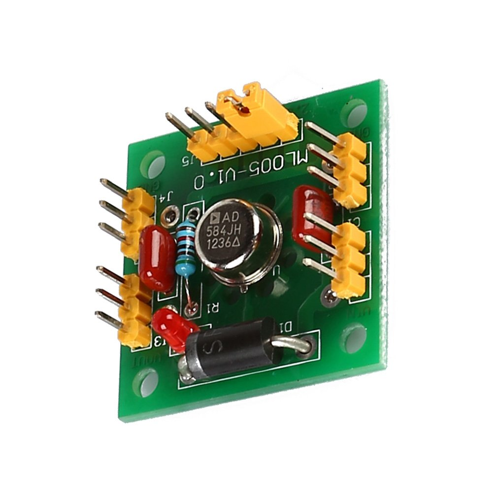 Module Sodialrad584 4 Channel 25v 5v 75v 10v High 12v 8211 32 V 5a Power Supply By Lm338 Precision Voltage Reference Green