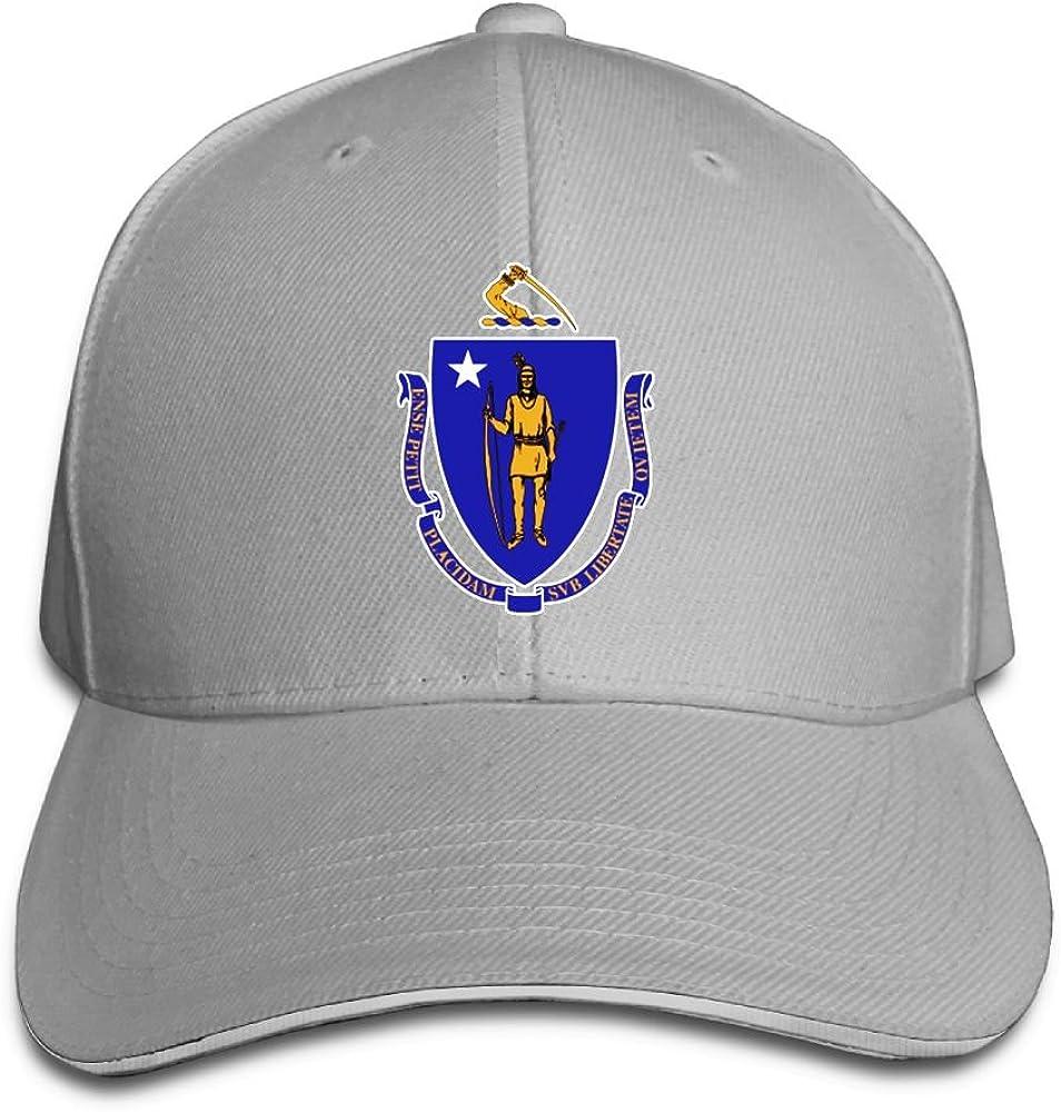 XZFQW New York State Flag Trend Printing Cowboy Hat Fashion Baseball Cap for Men and Women Black