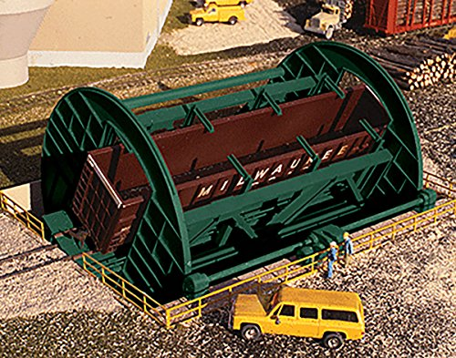 Walthers Cornerstone HO Scale Building/Structure Kit Rotary Dumper for Gondolas ()