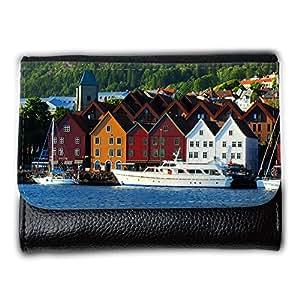 le portefeuille de grands luxe femmes avec beaucoup de compartiments // V00002619 Bergen Noruega // Medium Size Wallet