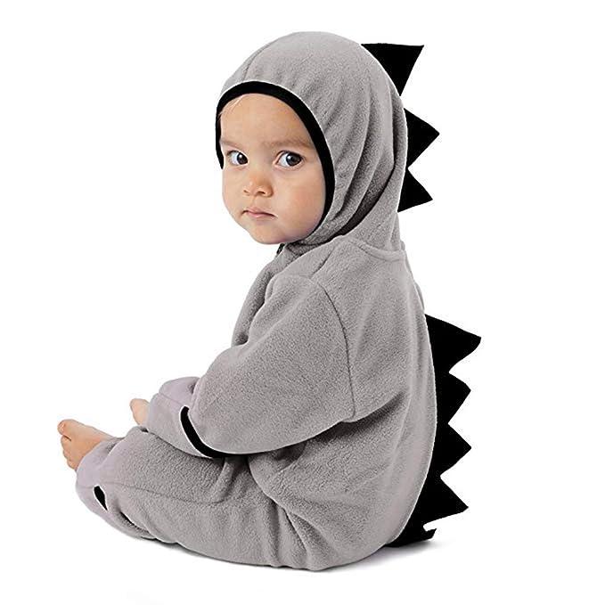 Cinnamou Ropa de una Pieza para bebés Disfraces Traje Dinosaurio Animales Romper Jumpsuit Sudadera con Capucha para Niñas niños Dormir: Amazon.es: Ropa y ...
