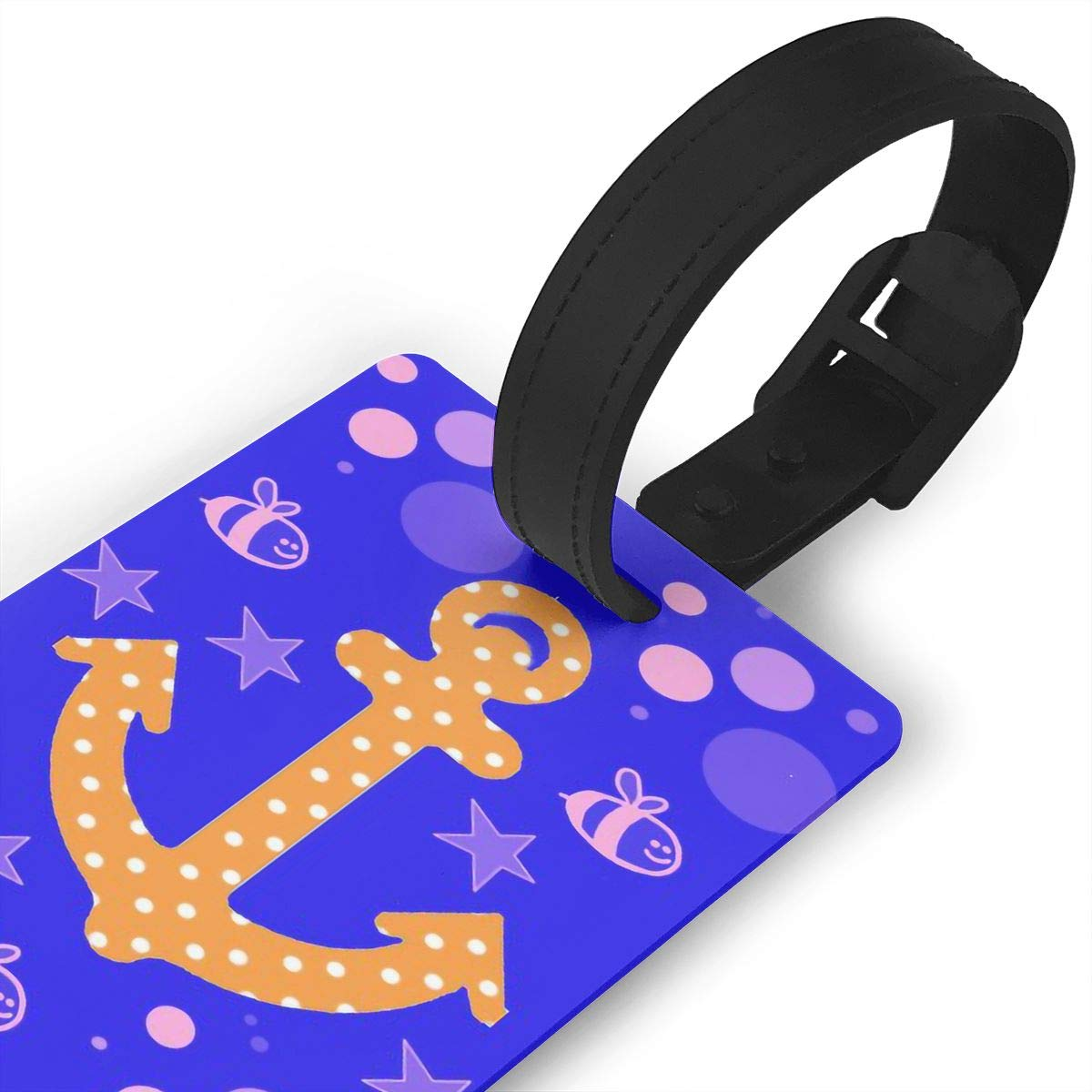 Anchors Baggage Tag For Travel Bag Suitcase Accessories 2 Pack Luggage Tags
