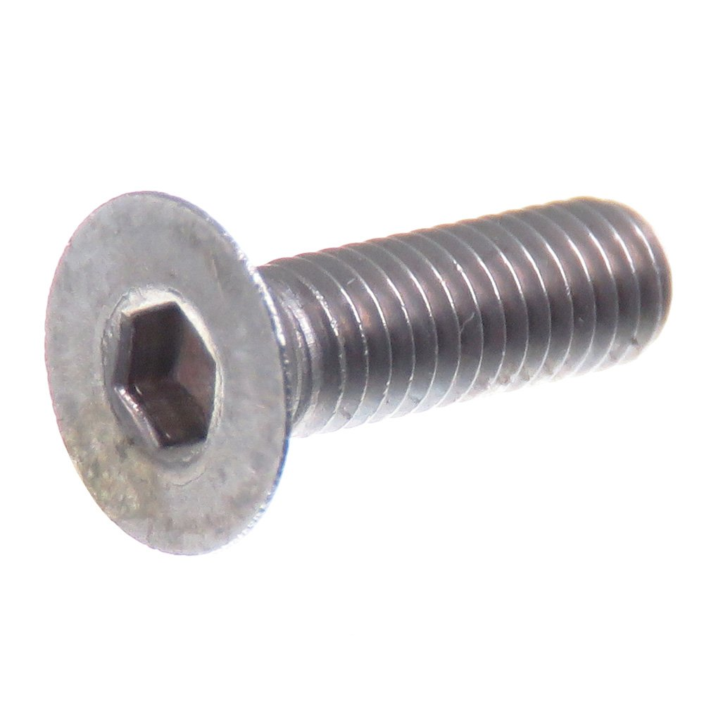SECCARO Tornillo avellanado M3 x 10 mm, acero inoxidable V2A VA A2, DIN 7991/ISO 10642, hexá gono interior, 20 piezas hexágono interior ecomserv