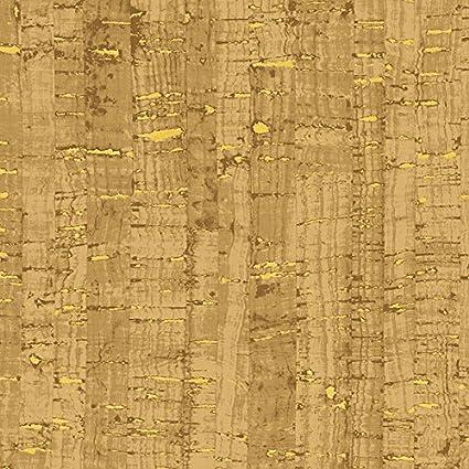 Amazon.com: uncorked corcho dorado metálico tela por el ...