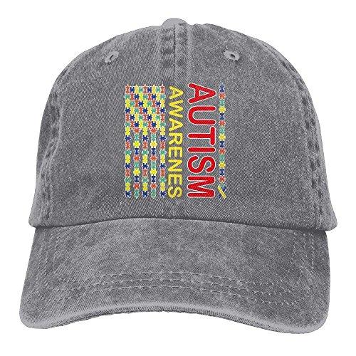 Life department Denim Baseball Cap Autism Awareness Flag-1 Men Women Snapback Caps Adjustable Baseball Cap