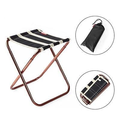 RFVBNM Tabouret Pliant Portable Extrieur Chaise Pliante Pche Art Adulte Mini Maza