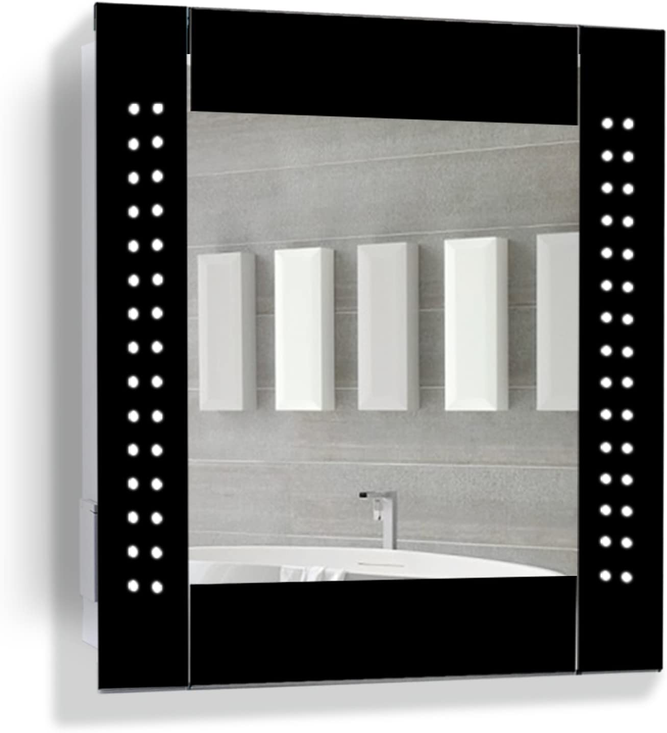 amazon co uk mirror cabinets home kitchen rh amazon co uk Bamboo Bathroom Cabinets Kohler Bathroom Mirrored Cabinets