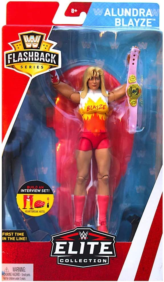 WWE Elite Collection Flashback Series  Alundra Blaze Madusa Action Figure