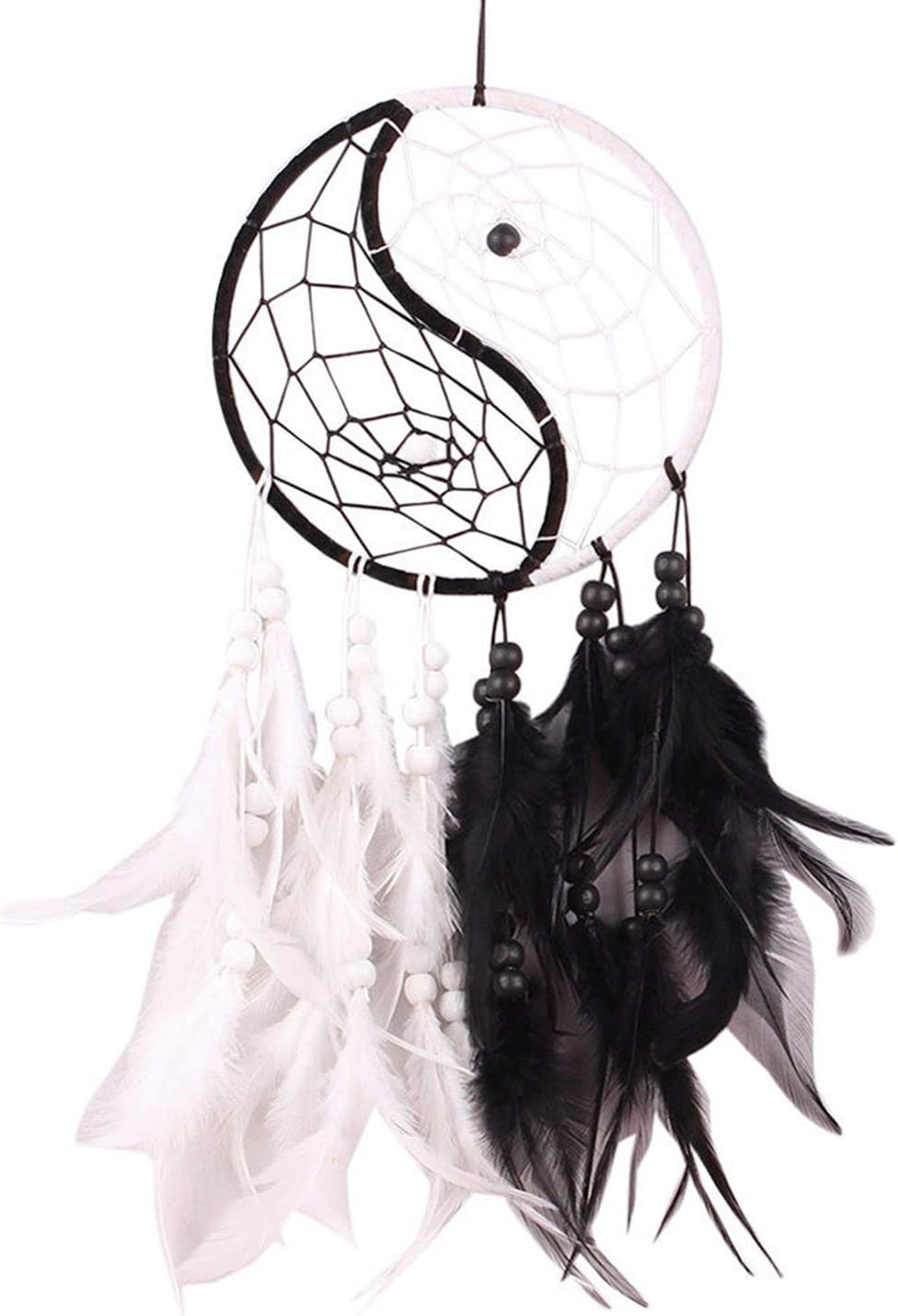 A/A Dream Catcher with Feathers Car Wall Hanging Ornament Gift Decoration Boho Decor for car