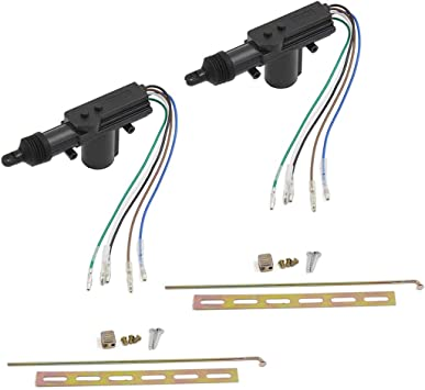 Amazon Com Sydien 2 Pack 5 Wire Car Power Door Lock Actuator For Central Locking System Dc 12v Auto Locking System Motor Automotive