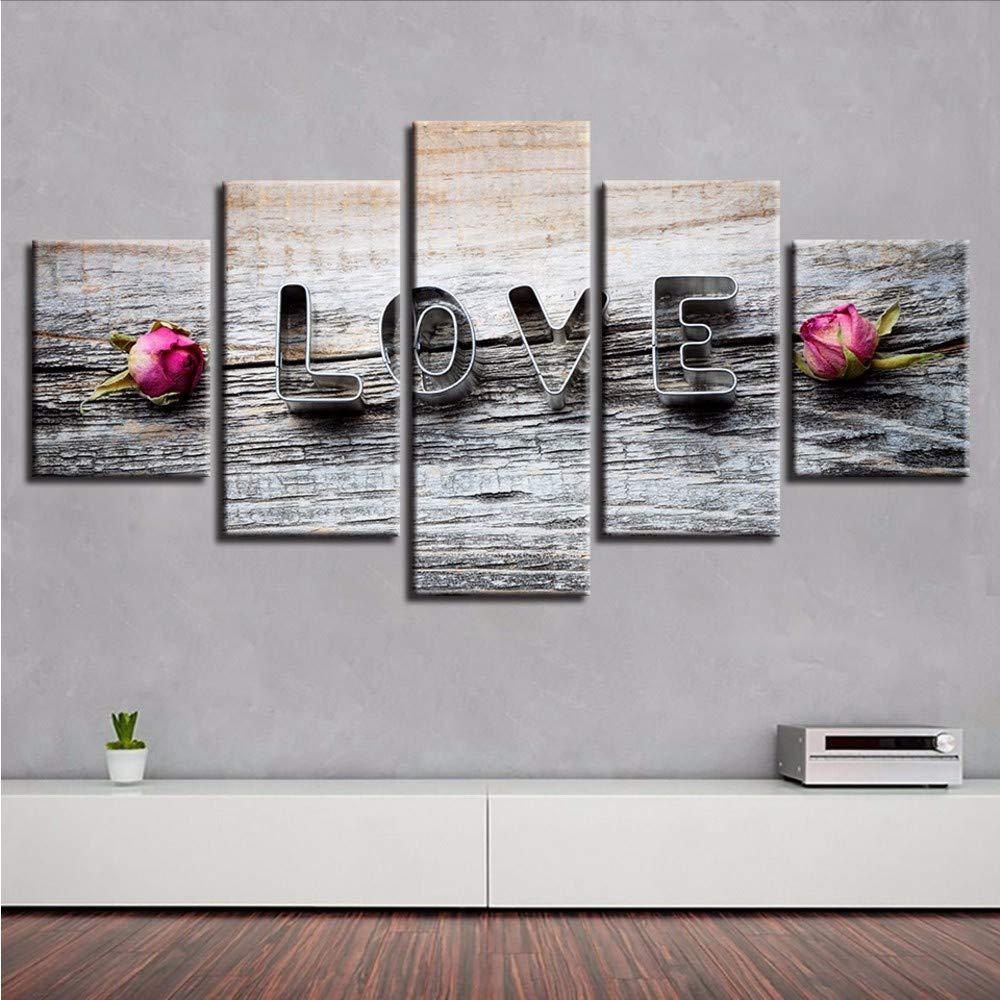 Fyyanm Pintura Moderna sobre Lienzo Modular Wall HD Arte ...