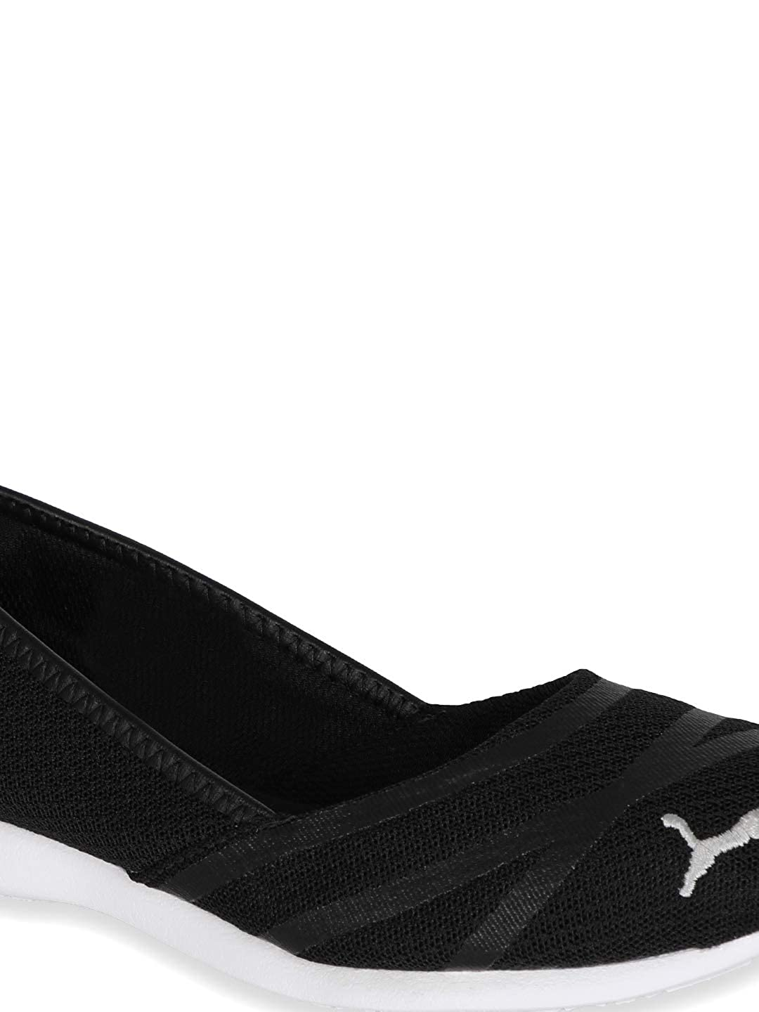 7ccbc0a5679 Puma Women s Vega Ballet Sweet Idp Black-Pu Flats-4 UK India (37 EU)  (36778002)  Buy Online at Low Prices in India - Amazon.in