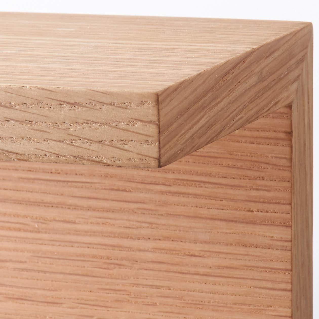 無印良品 壁に付けられる家具・棚・幅44cm・オーク材