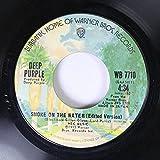 Deep Purple 45 RPM Smoke On the Water (Edited Version) / Smoke On the Water (Edited Version)