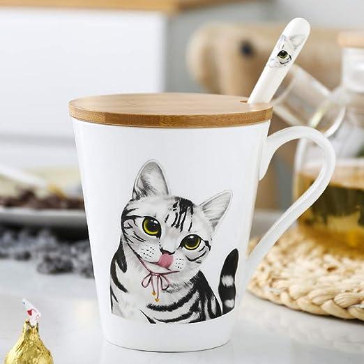 XTSHOP café Tazas New American Shorthair Tazas de cerámica para ...