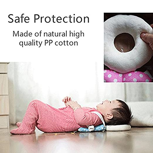 Adjustable Infant Safety Pad for Baby Walkers Protect Head/&Back from Injured Suitable Age 4-24 Months Pink Baby Toddlers Head Protector