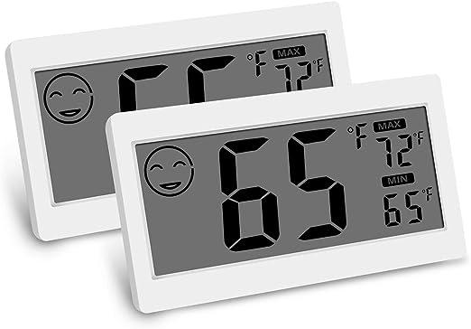 Digital Room Thermometer Indoor Hygrometer Temperature Monitor Humidity Meter US