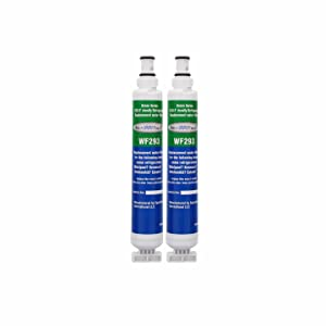 Aqua Fresh WF293 Replacement for Whirlpool 4396701, 4396702, 2301705, and W10281560 (Pack of 2)