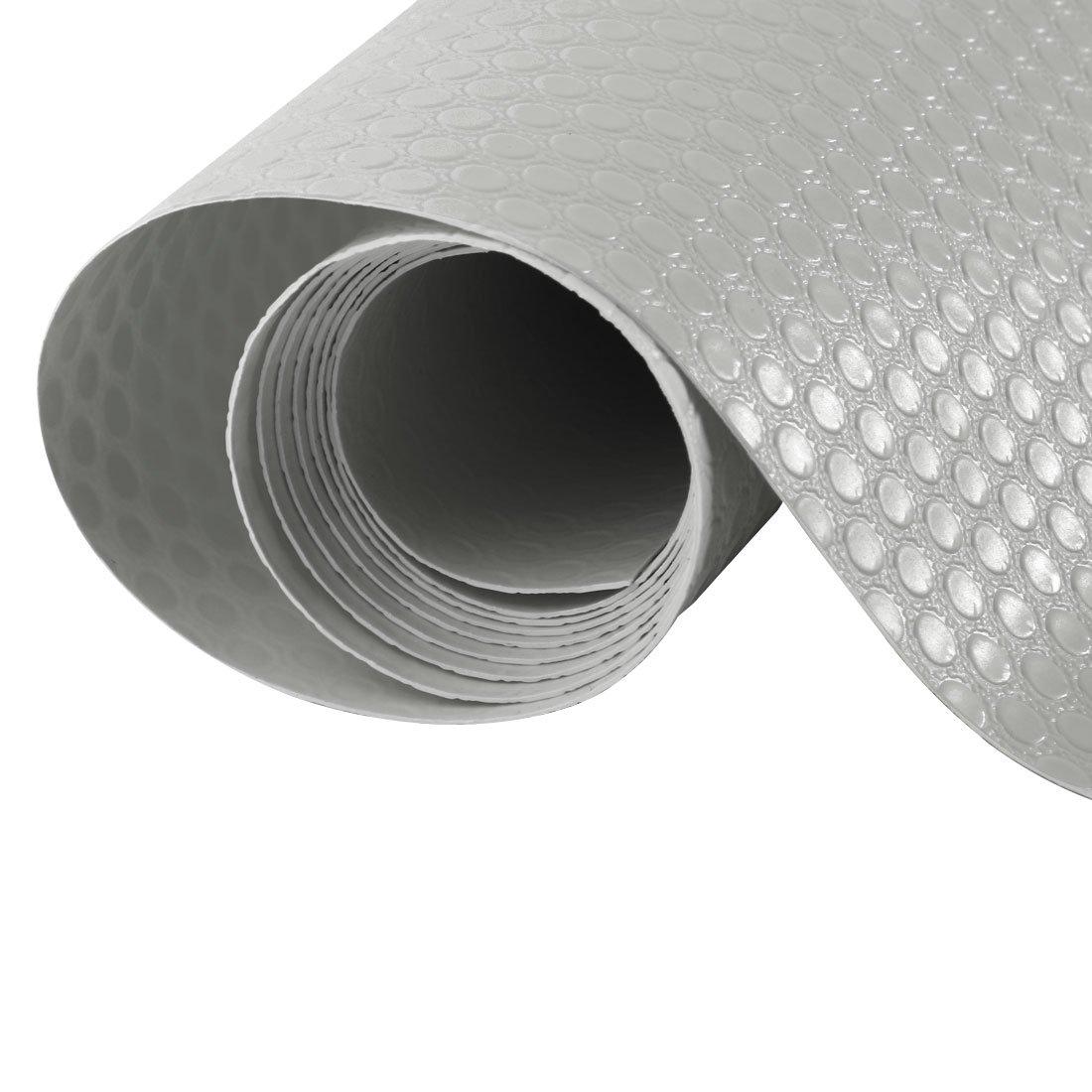 /Mesa de cocina armario caj/ón de papel estante maletero alfombrilla forro Pad Protector 50x100 cm gris Sourcingmap/ /Non/