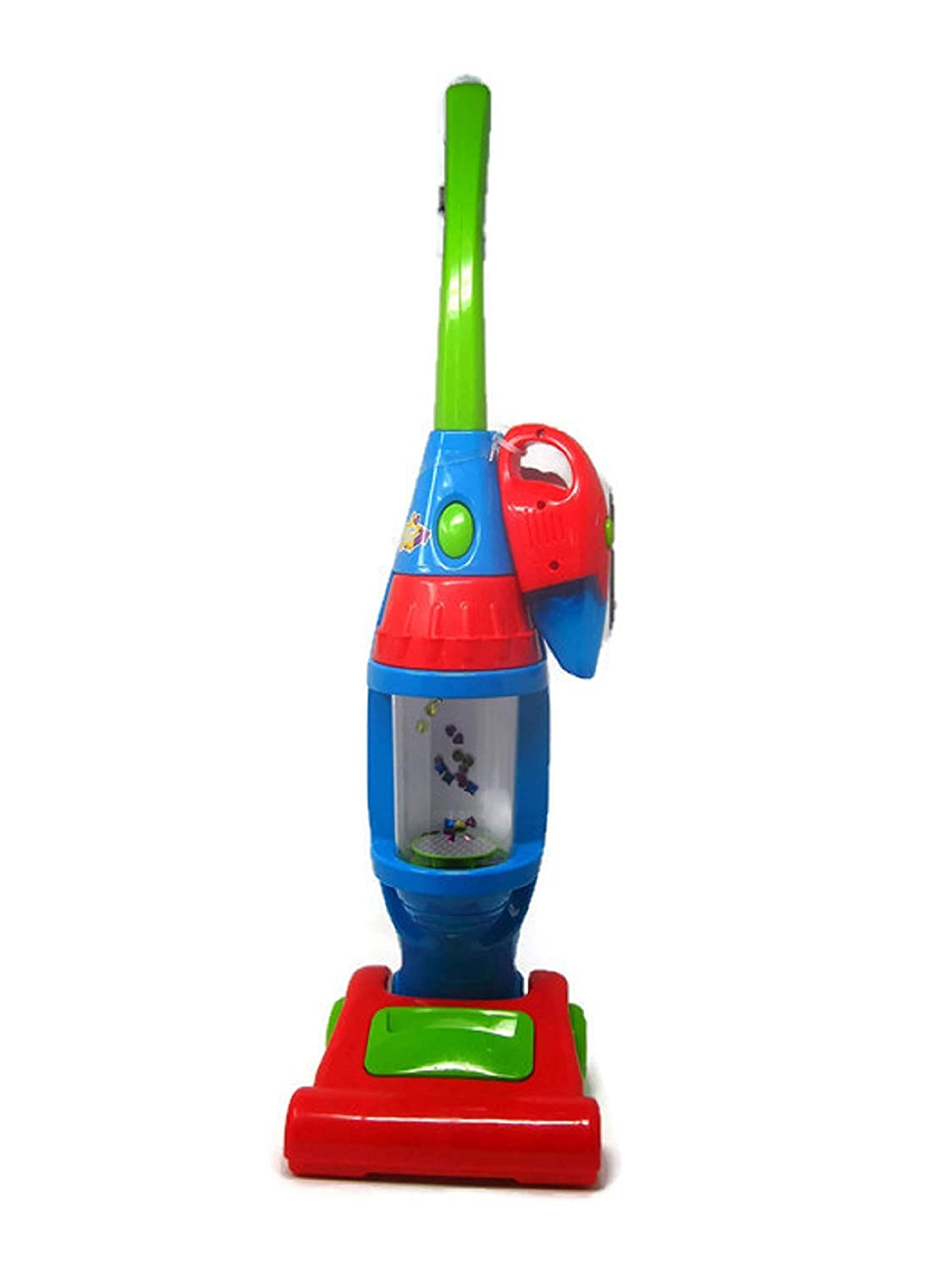 My Light Up Vacuum Cleaner Play Vac for Kid's with Dust Buster Attachment   B07HSY15CY