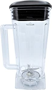 Blendin Complete 64oz Replacement Jar Container Set, Compatible with Vitamix Blenders