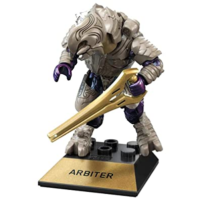 Mega Construx Halo Heroes Pro Builders Series 10 Arbiter Mini Figure GFT40: Toys & Games