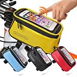 JOY COLORFUL Bicycle Bags Bicycle Front Tube Frame Cycling Packages...