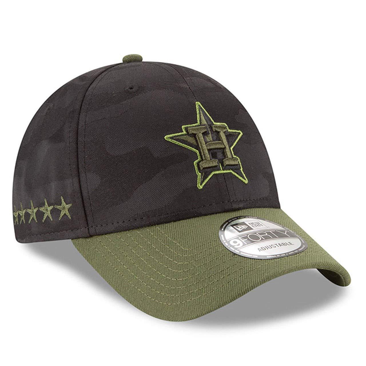 New Era Houston Astros 2018 Memorial Day 9FORTY Adjustable Hat