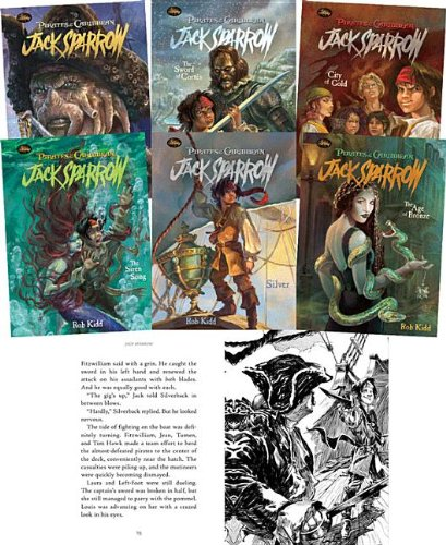 Download Pirates of the Caribbean, Jack Sparrow: The Coming Storm, the Siren Song, the Pirate Chase, the Sword of Cortes, the Age of Bronze, Silver, City of Gold, the Timekeeper ebook