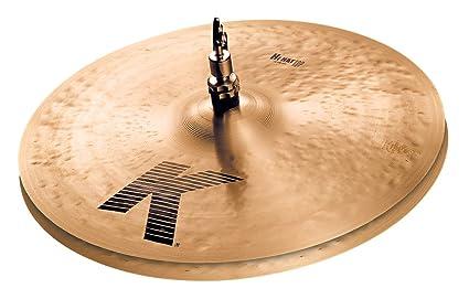 Amazon Com Zildjian K 14 Hi Hat Cymbals Pair Musical Instruments
