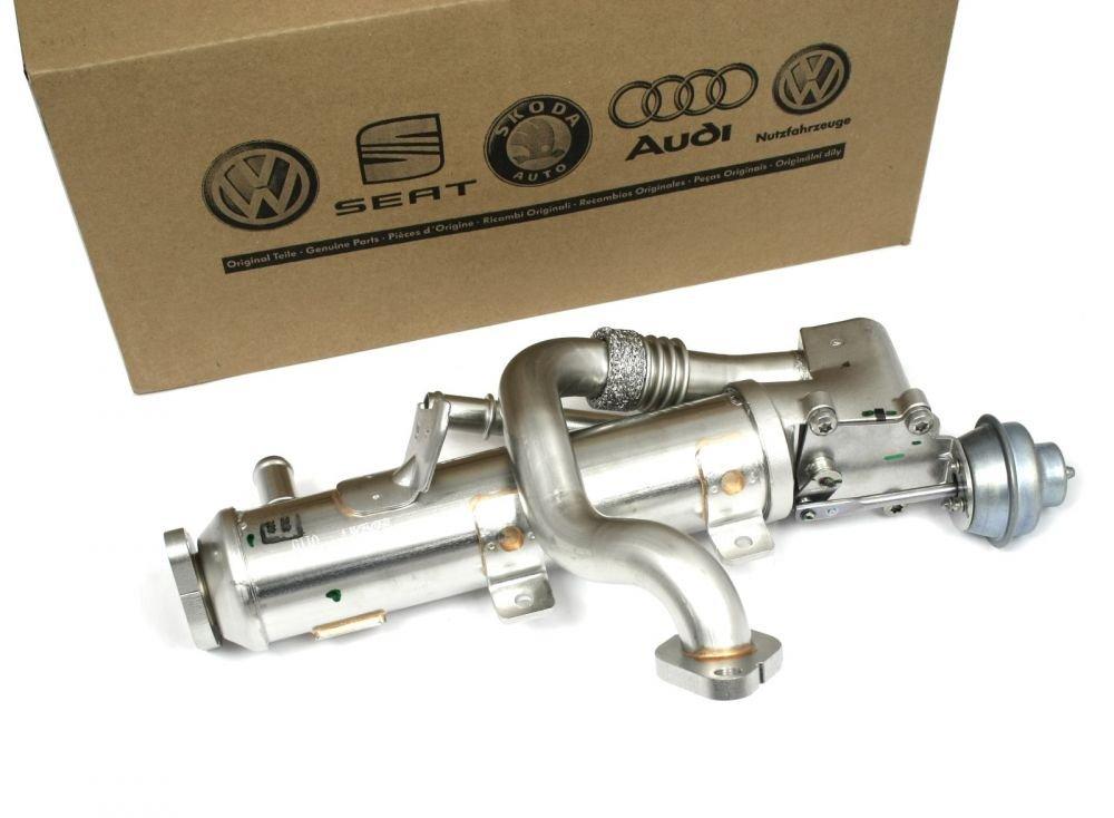 Original Audi K/ühler Abgasr/ückf/ührung Abgask/ühler AGR Abgasreinigung A4 A5 A6 Q5 Ventil 03L131512AH