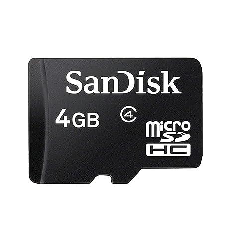 BVC - Tarjeta de Memoria MicroSD 4 GB - Clase 4, HC: Amazon ...
