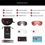 X-TIGER Polarized Sports Sunglasses with 3