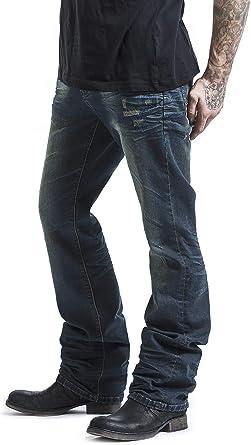 Black Premium by EMP Johnny Uomo Jeans Blu Bootcut