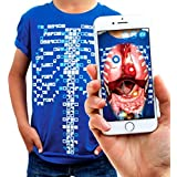 Virtuali-Tee Curiscope Lehrreiches Augmented-Reality-T-Shirt |