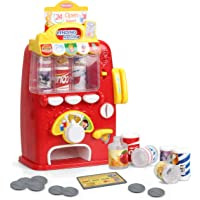 FS Interactive Vending Machine Game, Pretend Play Electronic Drink Machines, Early Developmental Toy, Develop Common…