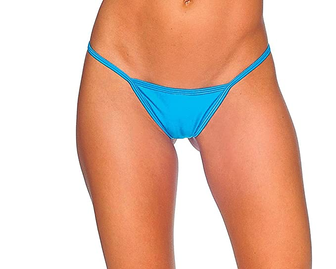9a7db464096d Amazon.com: BODYZONE Sexy Wide Front Low Back T Back Thong - ONE Size:  Clothing