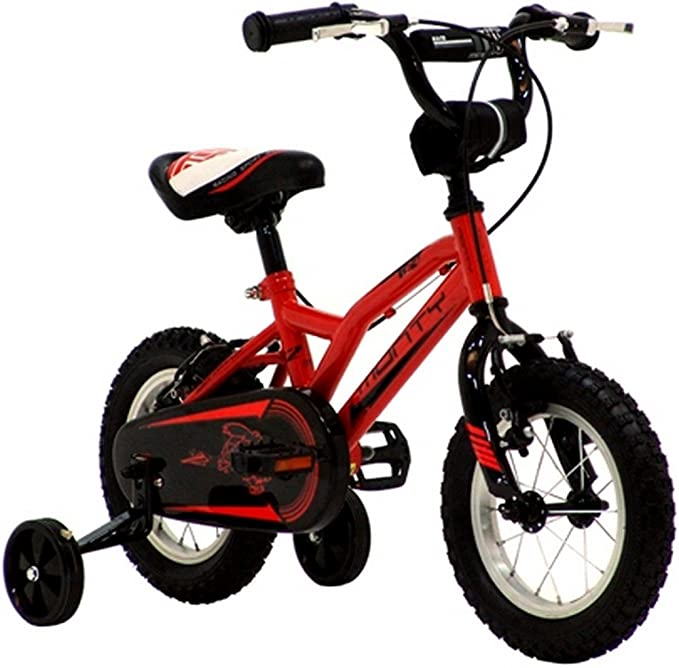 Monty 102 Nano - Bicicleta Infantes, Cuadro de Acero Talla 8″, Frenos V-Brake, Horquilla Acero y Ruedas de 12