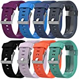 For Fitbit Charge HR Bands, Gotd Replacement Accessories Bracelet Band Silicone Band Rubber Strap Smart Watch Strap Wristband For Fitbit Charge HR (Large Size, Black)