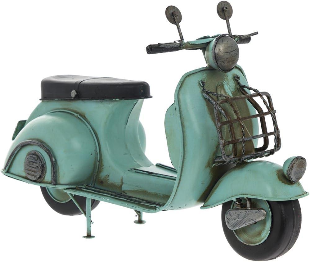 Lesser /& Pavey Vintage Effect Tin Metal Classic Blue Scooter Model Vintage Transport Collection