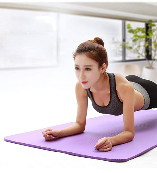 NA Equipo para ejercicios de yoga, Espesar esterilla de yoga ...