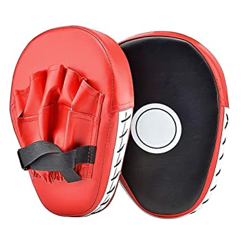 Punching Training and Kick Boxing Mytra Fusion Real Leather Target Focus Mitt for Boxing