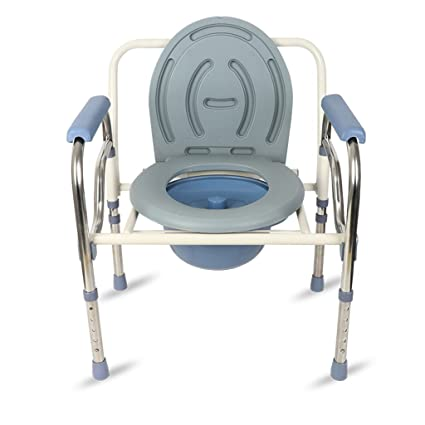 Amazon.com: Shower chair, Collapsible Old man Pregnant women ...